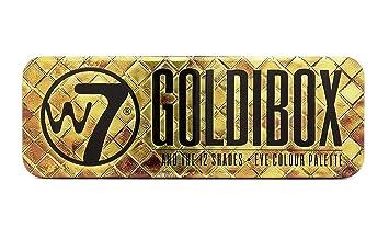 Goldi Box Eye Color Palette by w7 #2