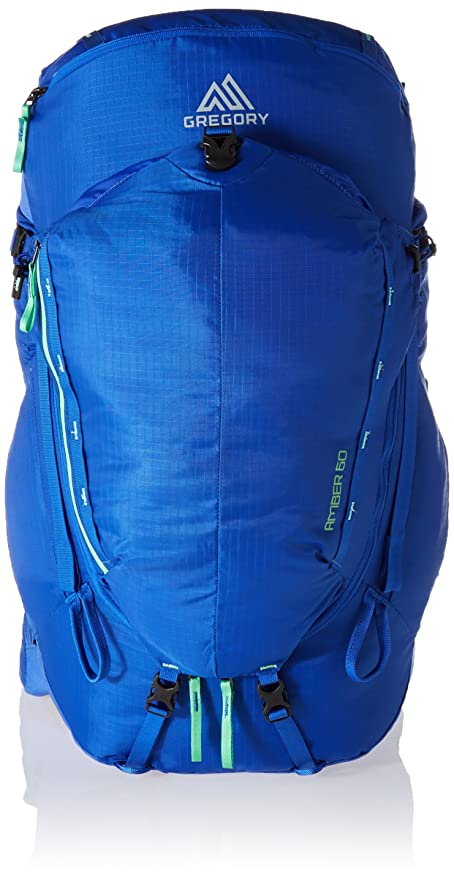 4b4216a2692 Gregory Mountain Products Women's Amber 60 Backpack, Sky Blue, X-Small