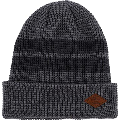 f763402d03ca4 Amazon.com  O Neill Mens Woolrich Beanie Hats One Size Grey  Clothing