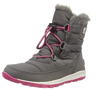 7f49c3466c Amazon.com | SOREL Kids' Youth Whitney Short Lace Snow Boot | Snow Boots