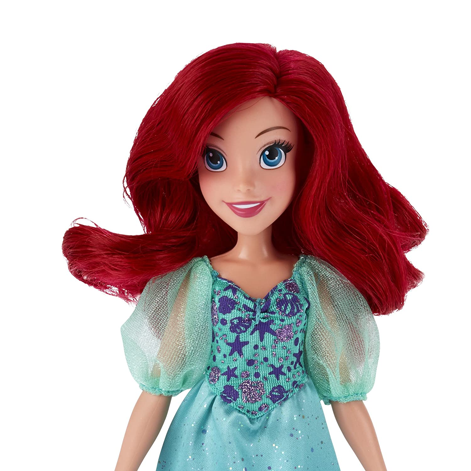 Amazon Disney Princess Royal Shimmer Ariel Doll Toys & Games