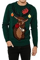 adultes Threadbare Nouveauté festive pour Noël pull tricoté