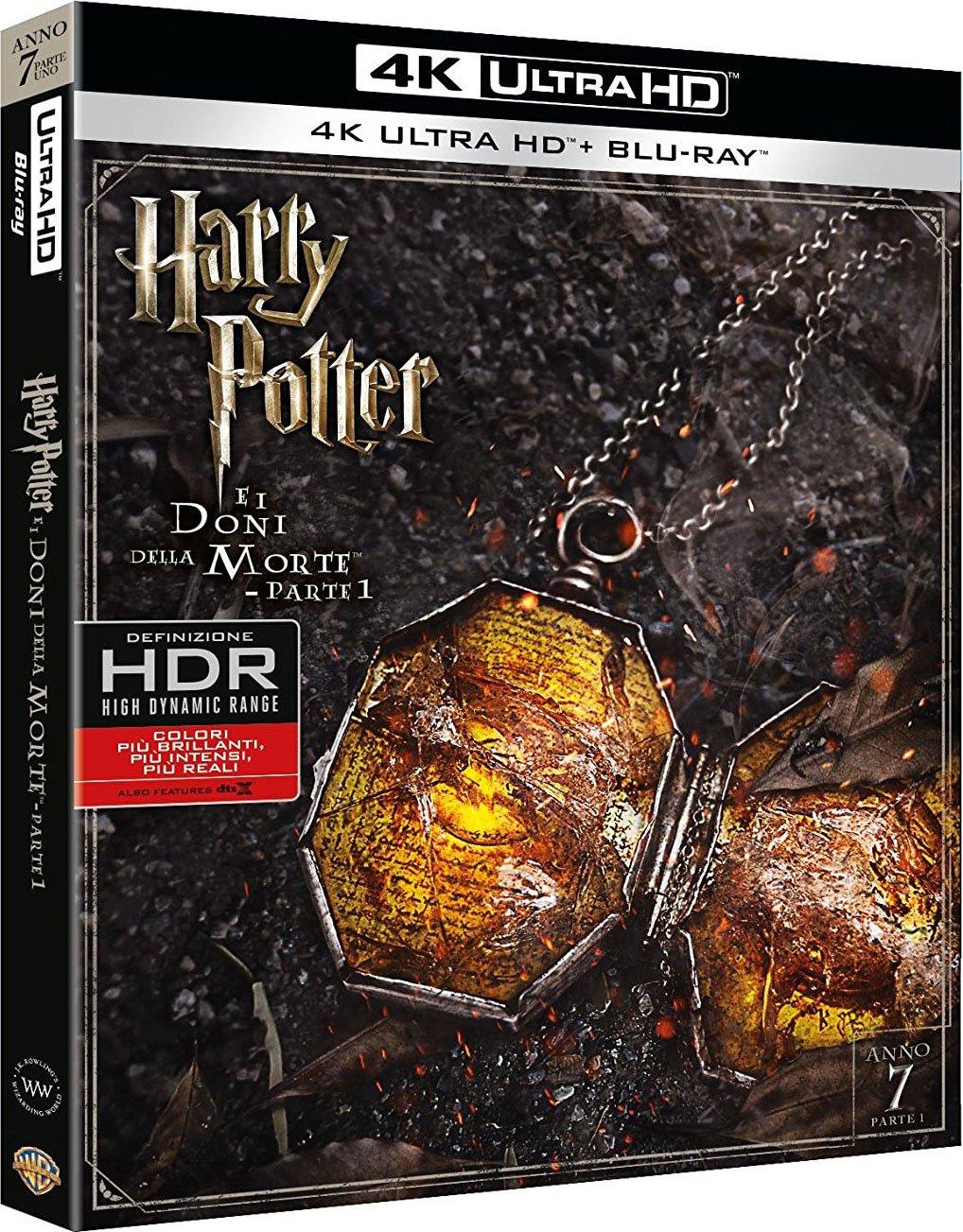 Harry Potter E I Doni Della Morte - Parte 01 Blu-Ray 4K Ultra ...
