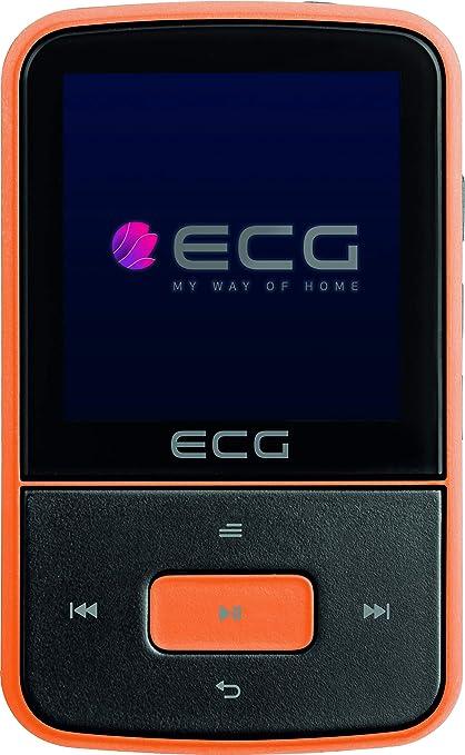 ECG PMP 30 - Reproductor MP3 y MP4 (8 GB, 30 preselección ...