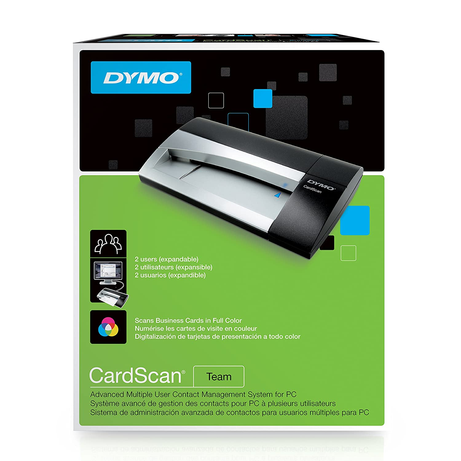 Amazon.com: DYMO CardScan v9 Team Multiple User Contact Management ...