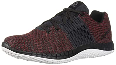962e242db30f Reebok Men s Print Run Ultk Cross Trainer ash Grey Coal Primal red White