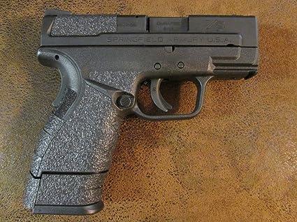 Amazon com : Sand-Paper-Pistol-Grips Black Textured Rubber