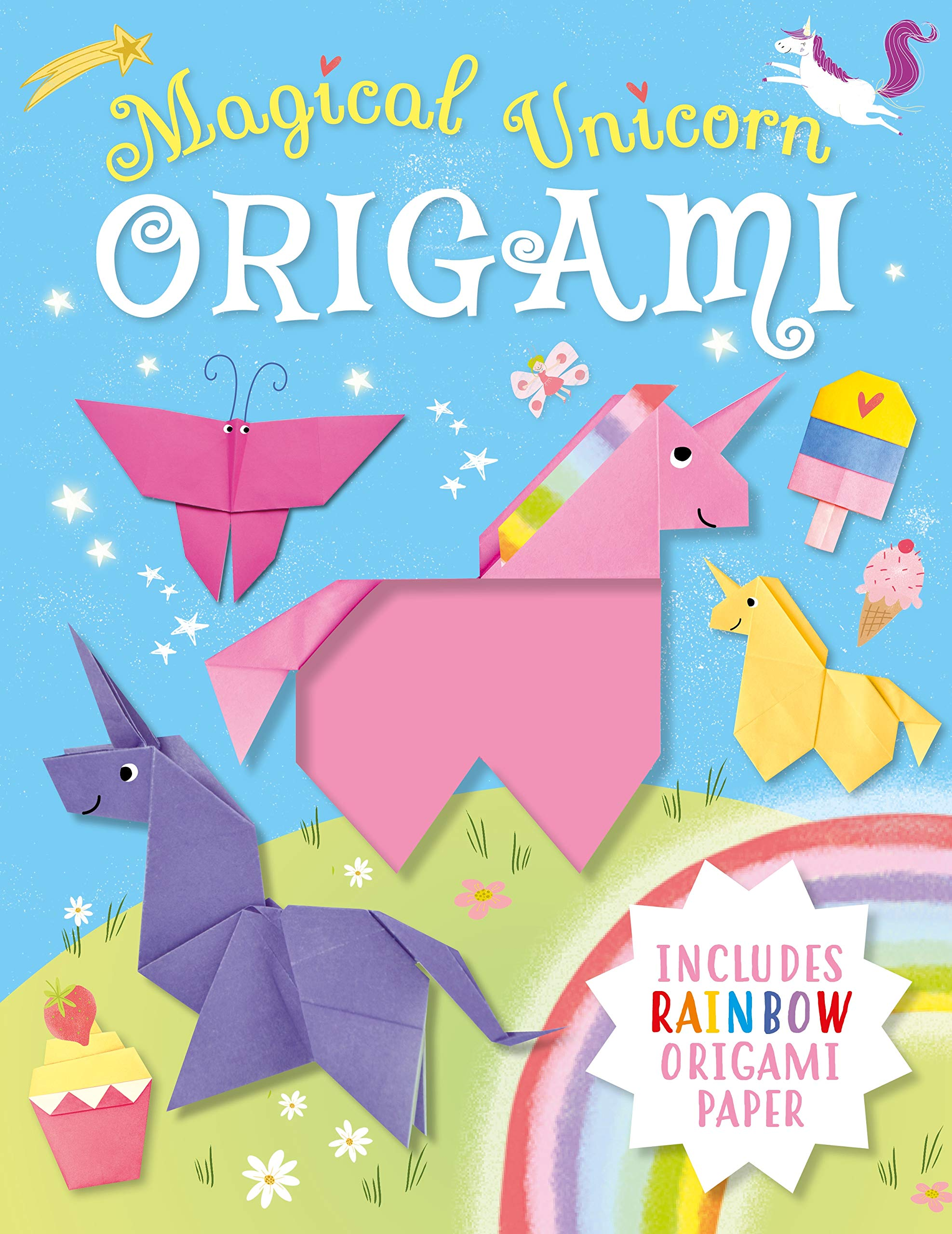 Origami Unicorn-How to make an origami Unicorn easy instructions ... | 2560x1975