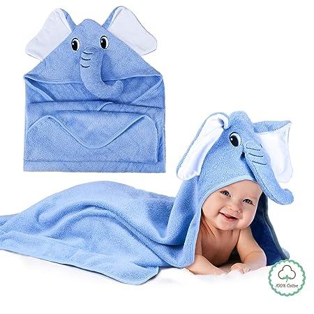 Momcozy Toalla Con Capucha De Baño Para Bebés Con ...