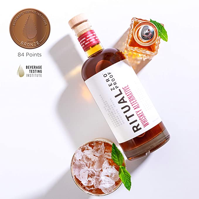 RITUAL ZERO PROOF Whiskey Alternative Non-Alcoholic Spirit