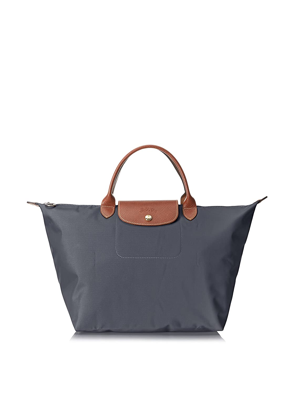 32995f14b777 Amazon.com  Longchamp Le Pliage Ladies Medium Nylon Tote Handbag  L1623089300  Longchamps  Watches