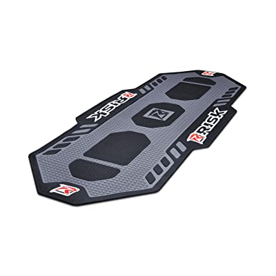 Risk Racing 00244 Black/Grey Motorcycle Pit Garage Floor Mat: Automotive