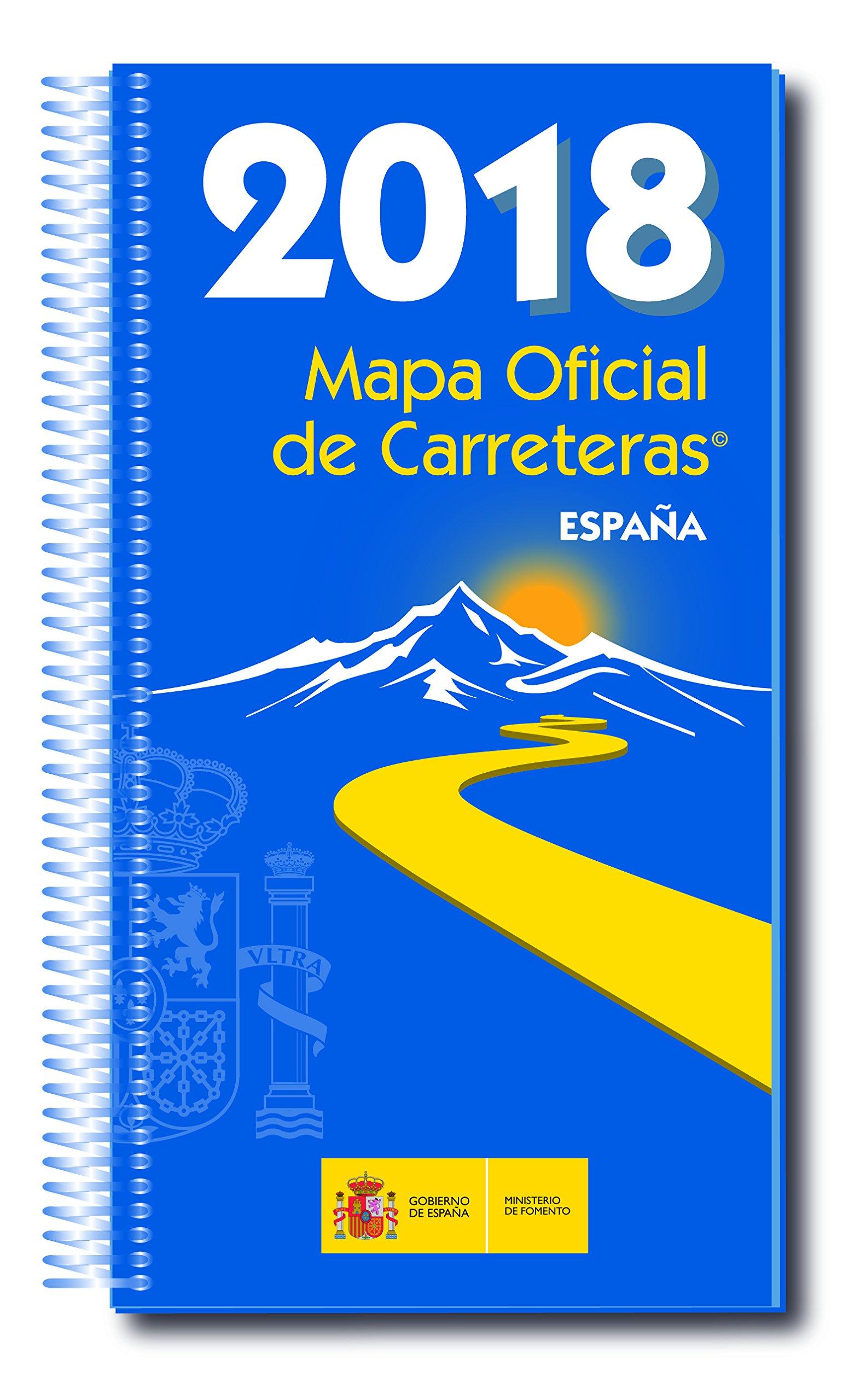 Mapa Carreteras España 2018.Mapa Oficial Carreteras Espana 2018 Inc Dvd 53 Ed M