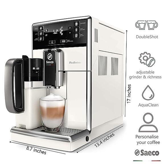 Saeco SM5478/10 - Cafetera (Independiente, Máquina espresso, 1,8 L ...
