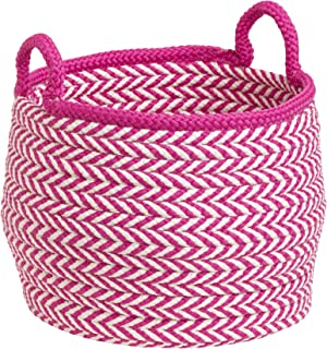 """product image for Colonial Mills Mistique Basket, 18""""x18""""x17"""", Magenta"""