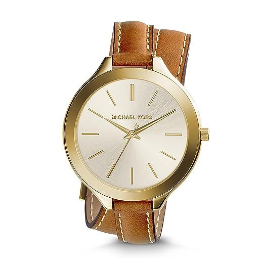 Michael Kors Slim Runway Womens Stainless Steel Watch 42mm