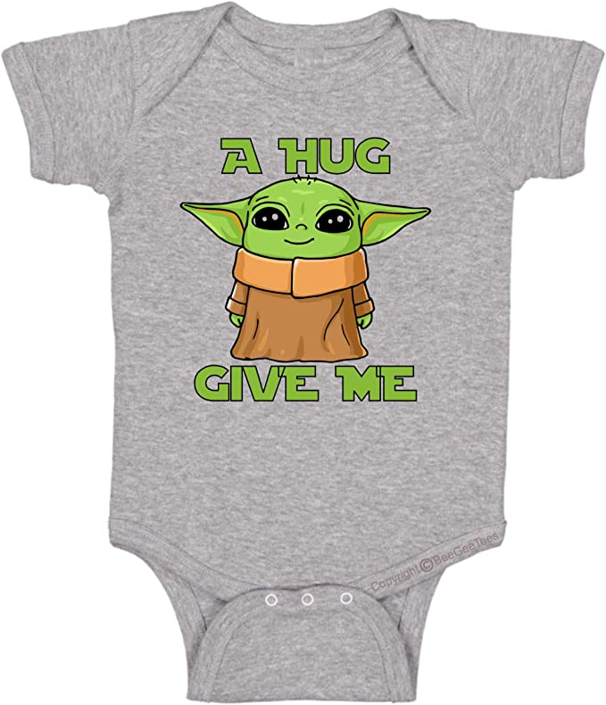 BeeGeeTees A Hug Give Me Funny Infant One Piece Baby Romper
