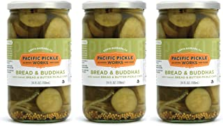 product image for Bread & Buddhas (3-pack) - Semi-sweet bread and butter pickle chips 24oz