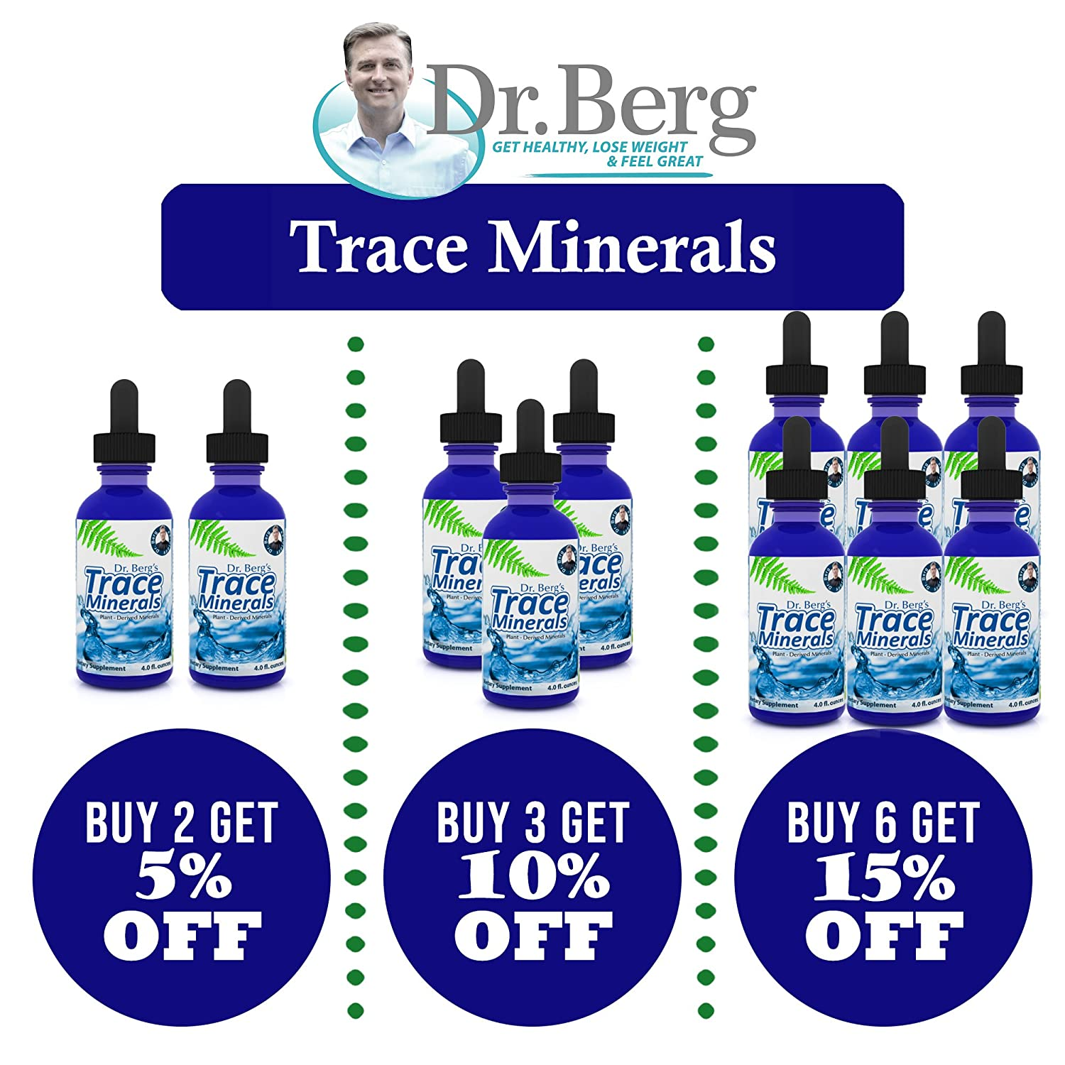 Amazon.com: Plant Based Trace Minerals – Powerful Natural Health Benefits –  Electrolyte Hydration, Enzyme Activation Supports Healthy Hair, Skin &  Nails By ...