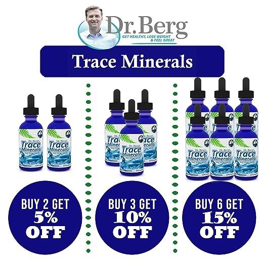 Amazon.com: Dr. Berg - Oligoelementos basados en plantas ...