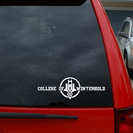"Elder Scrolls/Skyrim - College of Winterhold - 7"" x 2 3"" Vinyl Decal Window  Sticker for Cars, Trucks, Windows, Walls, Laptops, and More"