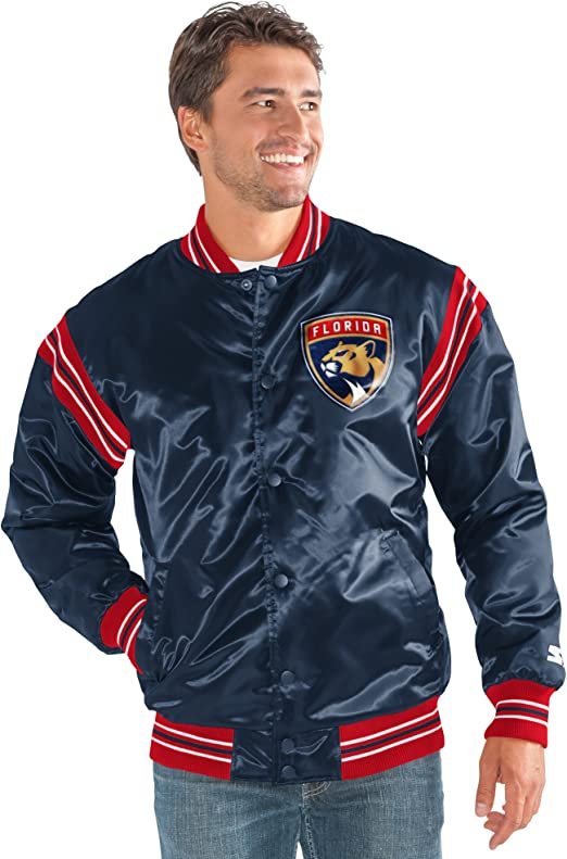 Royal Starter Adult Men The Enforcer Retro Satin Jacket XX-Large
