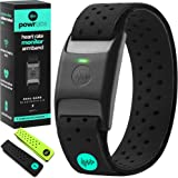 Powr Labs Bluetooth Heart Rate Monitor Armband | ANT Heart Rate Monitor Armband Heart Rate Monitor Bluetooth Wrist Heart…