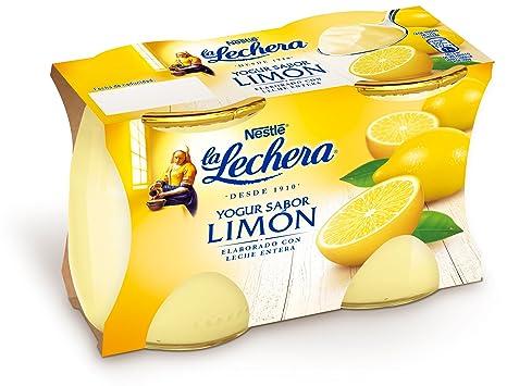 La Lechera, Yogur de sabor (Limón) - 2 de 125 ml. (