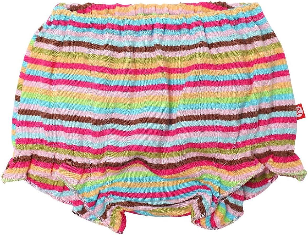 Multicolor-12 Months Baby Zutano Super Stripe Bloomer