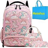 Mochila Unicornio Niños Impermeable Mochila Escolar para Adolescente