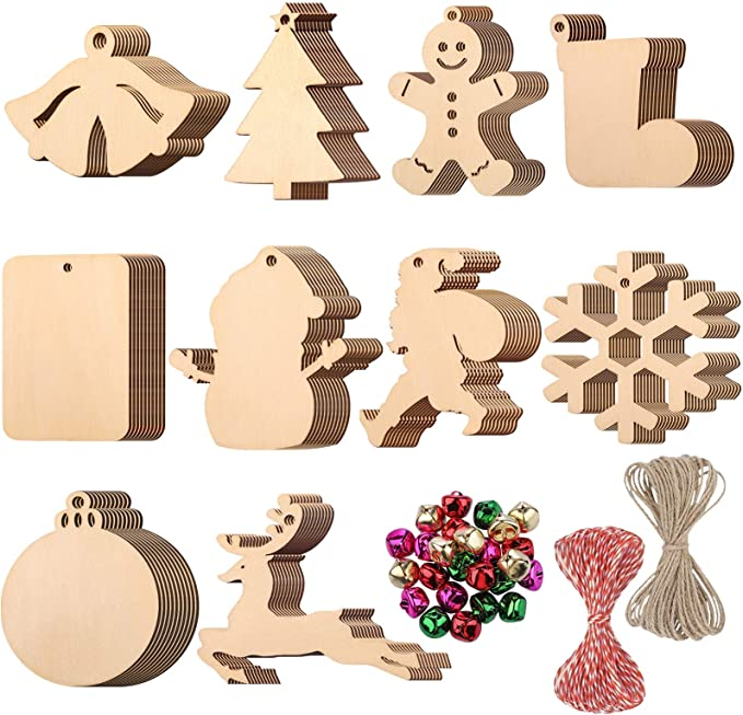 10x Wooden Fish 1 Shapes Art Projects Craft  Decoration Gift Decoupage Ornament Craft Supply Unpainted MG000244