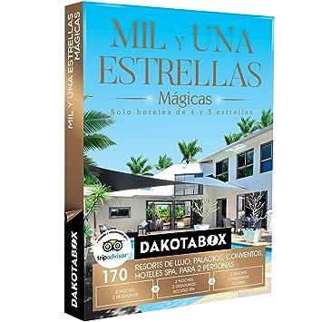DAKOTABOX - Caja Regalo - MIL Y UNA ESTRELLAS MÁGICAS - 170 hoteles únicos de 4