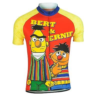 468461696 Amazon.com  Brainstorm Gear Sesame Street Men s Bert   Ernie Cycling ...