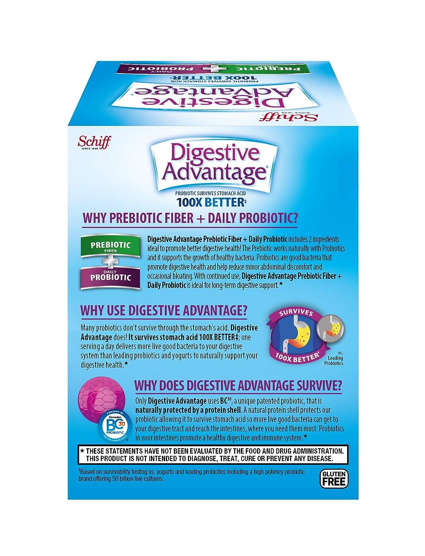 Amazon.com: Digestivo ventaja Prebiotic Plus Cápsulas ...