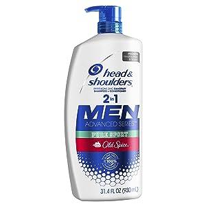 Head and Shoulders Old Spice Pure Sport 2-in-1 Anti-Dandruff Shampoo + Conditioner 32.1 fl oz