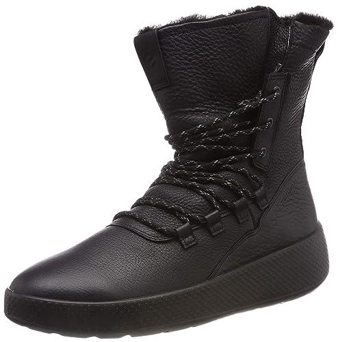 cf7b7587dd ECCO Womens Ukiuk Lace Boot Boots: Amazon.ca: Shoes & Handbags
