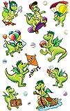 Avery Zweckform 53144Autocollants pour enfants dragon 27 Aufkleber bunt