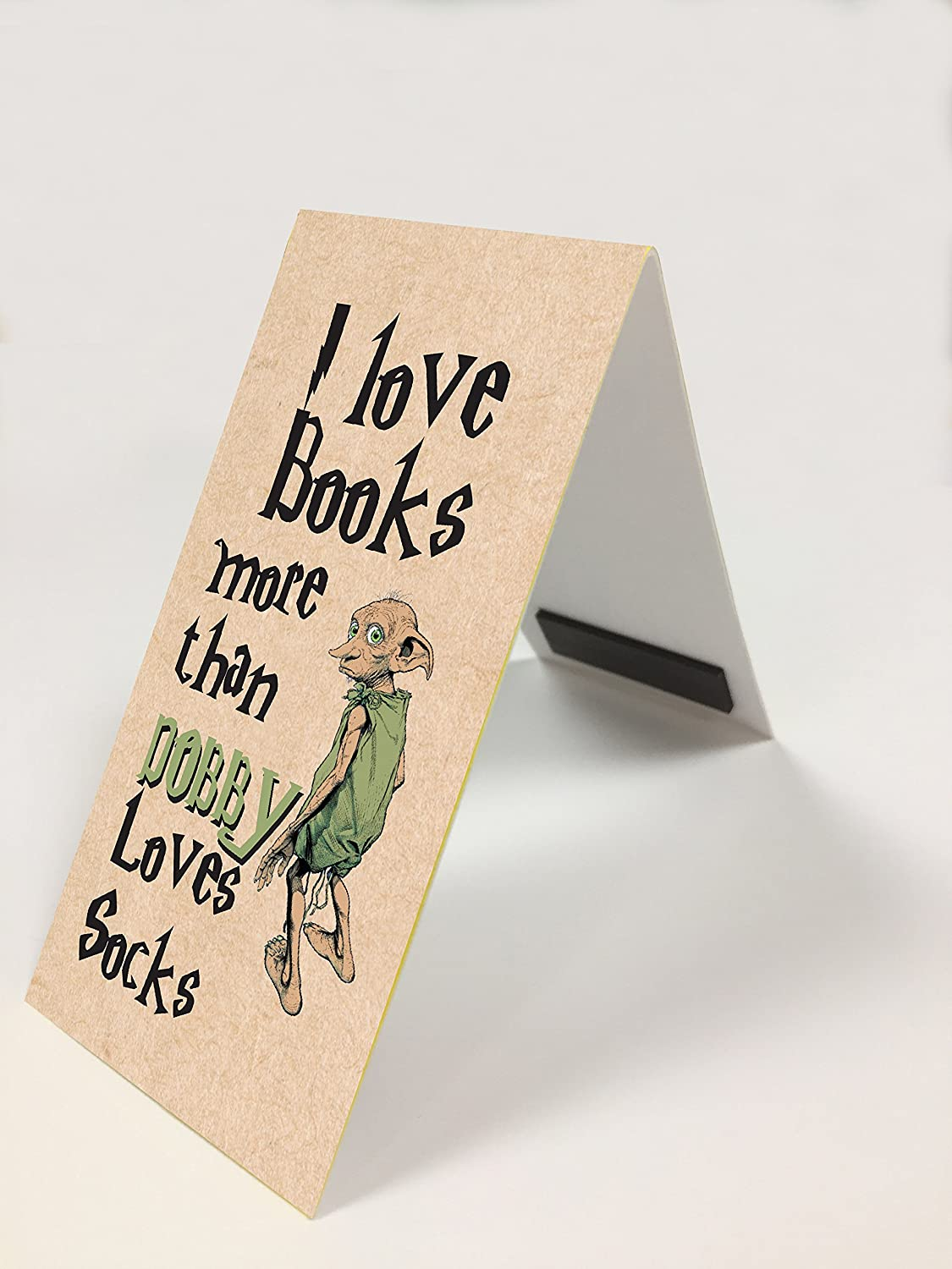 #626 Greeting Card Close to the Bone #626 MAGNETIC BOOKMARK Harry Potter Dobby funny present rude Any Occasion Gift