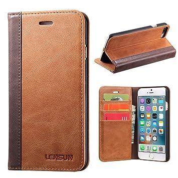 iPhone 8 Plus / iPhone7 Plus ケース 手帳型,ワイヤレス充電可能 マグネットなし 本