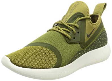 NIKE Men's Lunarcharge Essential Camper Shoe Green/Sequoia Bnkle-High Fabric Running Shoe Camper - 11M 02cbc0