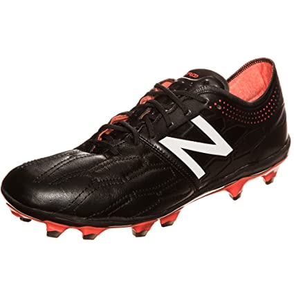 8950da5f43d68 Image Unavailable. Image not available for. Color: New Balance Visaro 2.0  Pro K Leather FG Football Boots - Adult - Black/Alpha