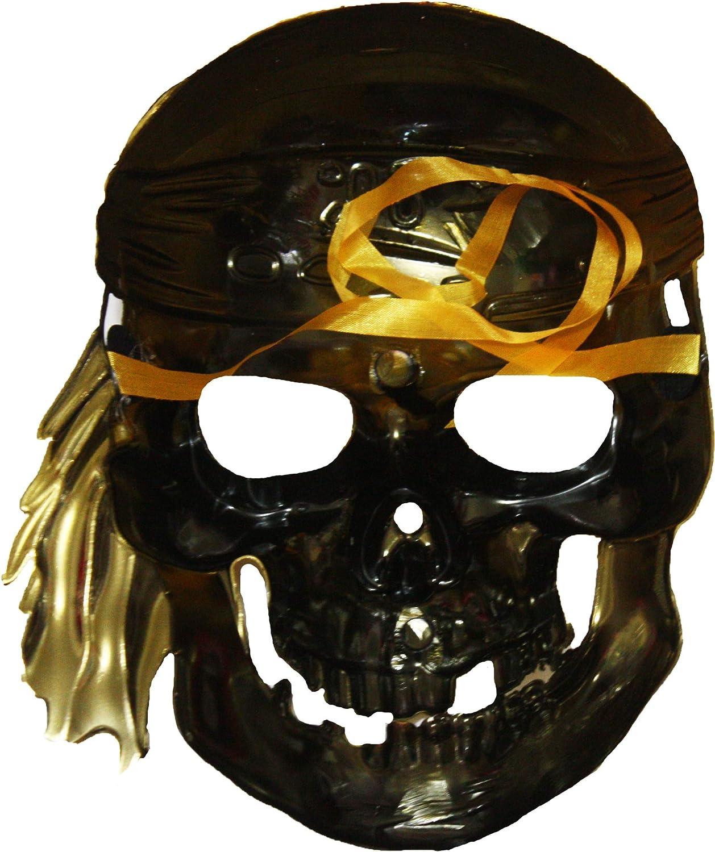 Petitebella Skull Skeleton Half Mask Dress Up Costume