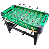 Pinty Foosball Table Soccer 48'' MDF Construction for Family Use Game Room