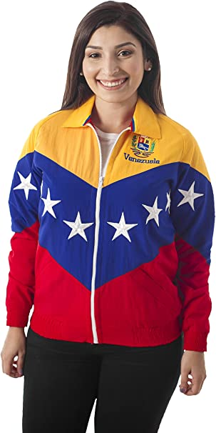 23 - 48 Chaqueta Tricolor DE LA Bandera DE Venezuela: Amazon.es: Ropa y accesorios