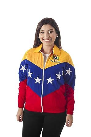 23 - 48 Chaqueta Tricolor DE LA Bandera DE Venezuela