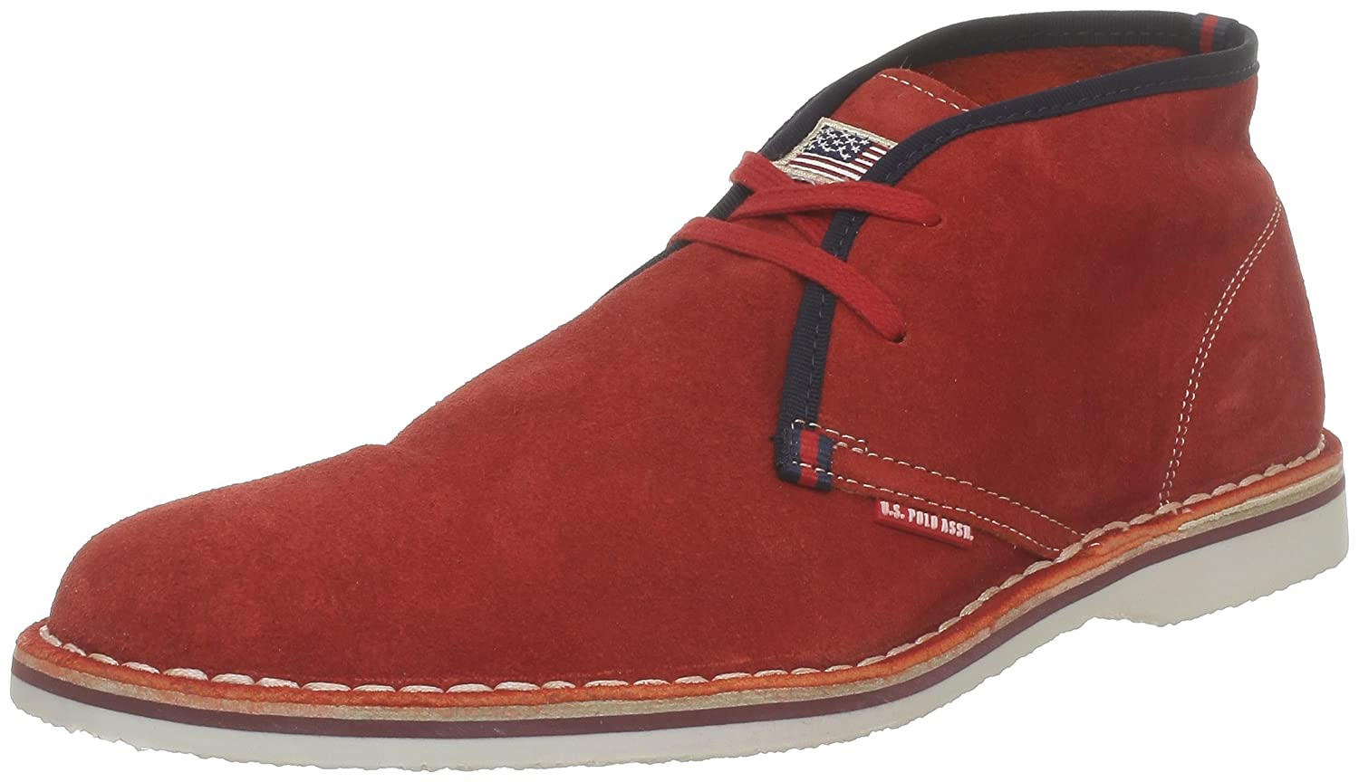 US Polo Assn Drake, Chaussures à lacets homme - Rouge (Red), 40 EUU.S.Polo Association