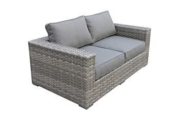 Peachy Amazon Com Envelor Bali Outdoor Patio Furniture Love Seat Alphanode Cool Chair Designs And Ideas Alphanodeonline