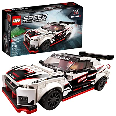 LEGO Speed Champions Nissan GT-R NISMO 76896 Toy Model Cars Building Kit Featuring Minifigure, New 2020 (298 Pieces): Toys & Games
