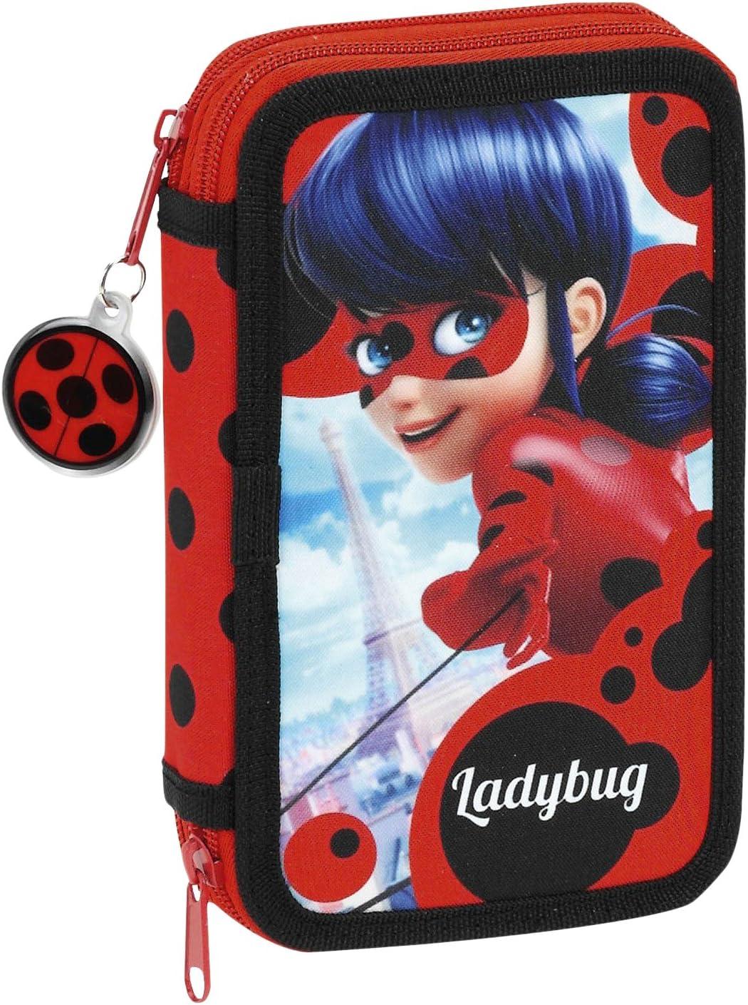 Safta- Lady Bug Ladybug Estuche, Color Rojo, ampuacutenica (411702854): Amazon.es: Juguetes y juegos