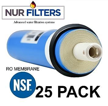 nurfilter – Umkehrosmose (RO) Membran (Ersatz) für 50 GPD Filtration ...